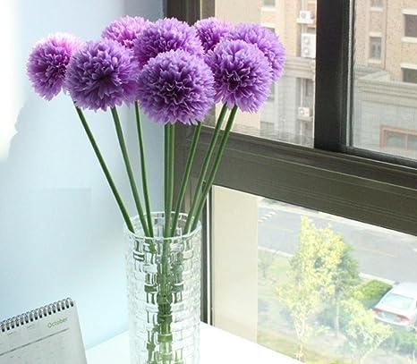 Deko Lavendel.Longra Wohnaccessoires Deko Kunstblumen 5pcs Lavendel Ball Künstliche Seide Blumen Blumenstrauß Home Hochzeit Party Dekoration Künstliche Fake Blume