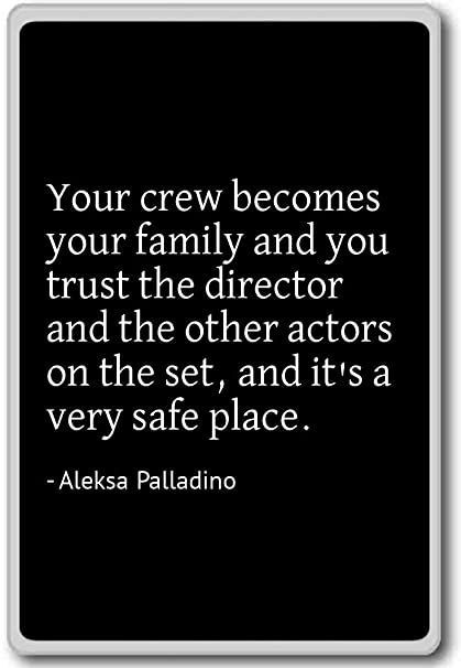 7d365043e Image Unavailable. Image not available for. Color: Your crew becomes your  family and you ...