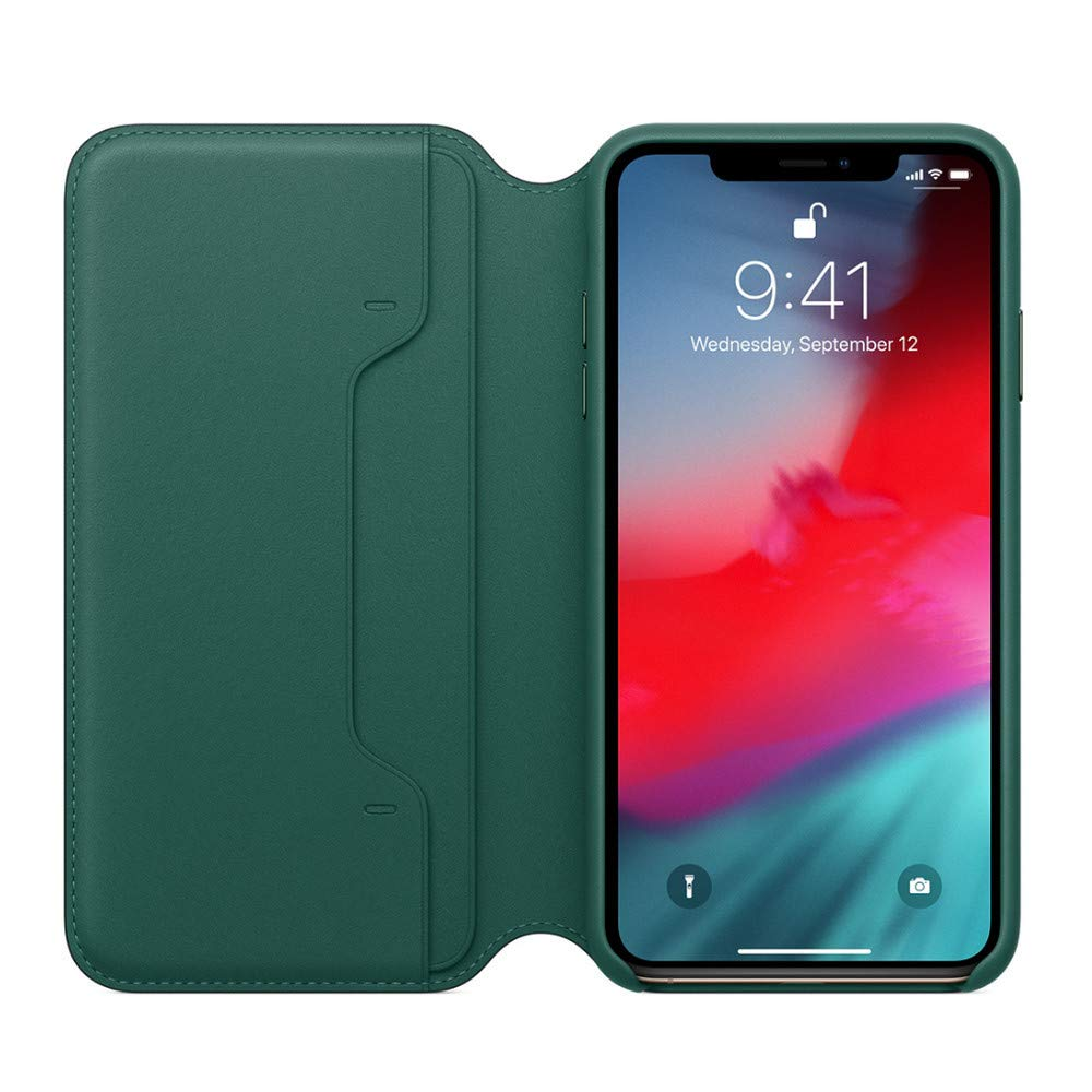 for iPhone XS Max Case 6.5 inch, Leather Wallet Cover Flip Cases (For iPhone XS Max 6.5, Blue) Goodtrade8 Clearance