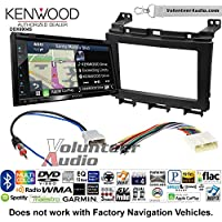 Volunteer Audio Kenwood Excelon DNX694S Double Din Radio Install Kit with GPS Navigation System Android Auto Apple CarPlay Fits 2009-2016 Nissan Maxima
