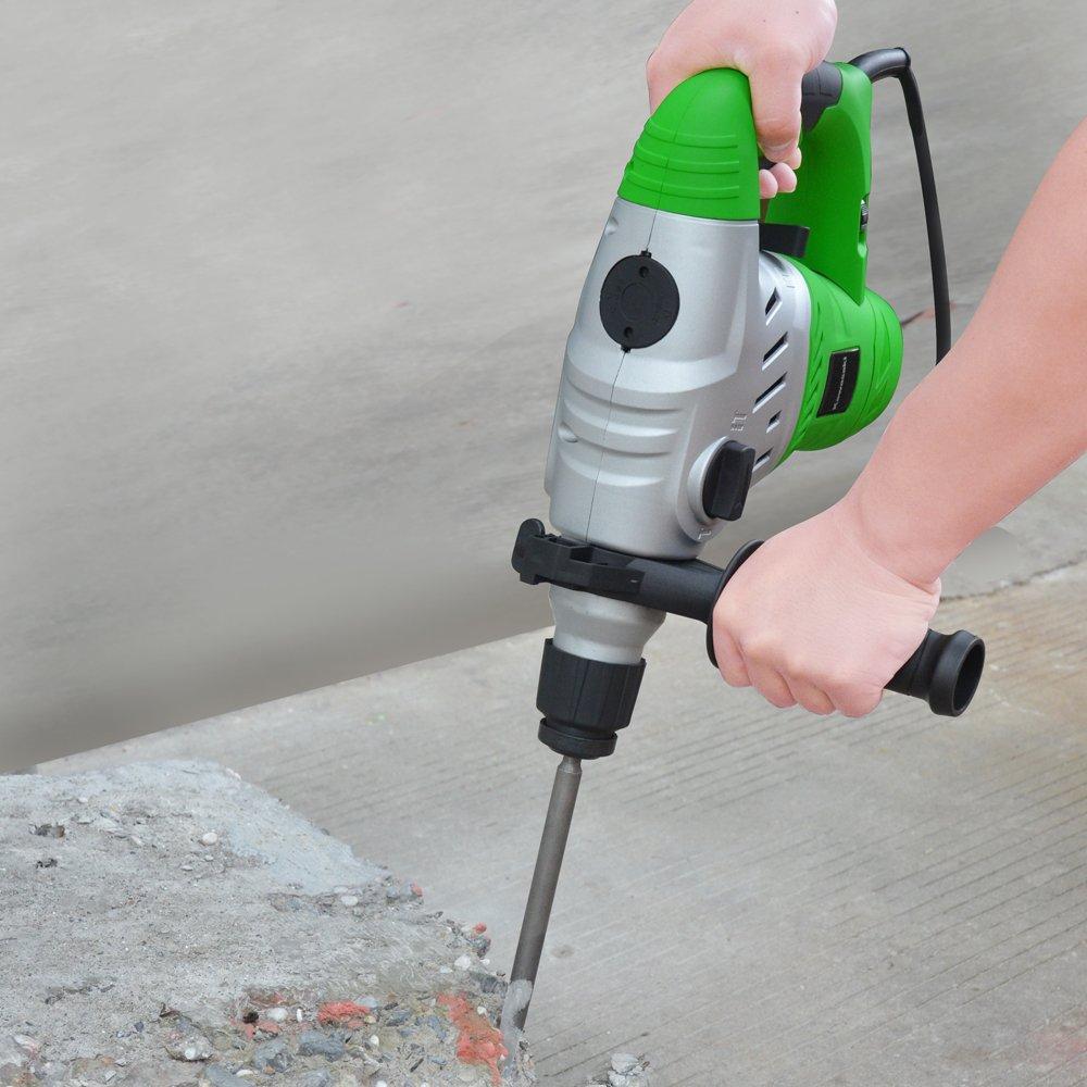 3 cm, 1100 RPM, 4,5 J, 4500 ppm, 1,6 cm, 4 cm Martillo perforador Kawasaki K-EHD 1500 rotary hammers 1100 RPM 1500 W