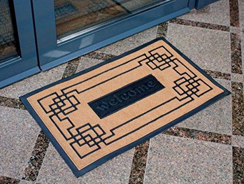 Slonser Modern Welcome Mat Carpet Entrance Rug Front