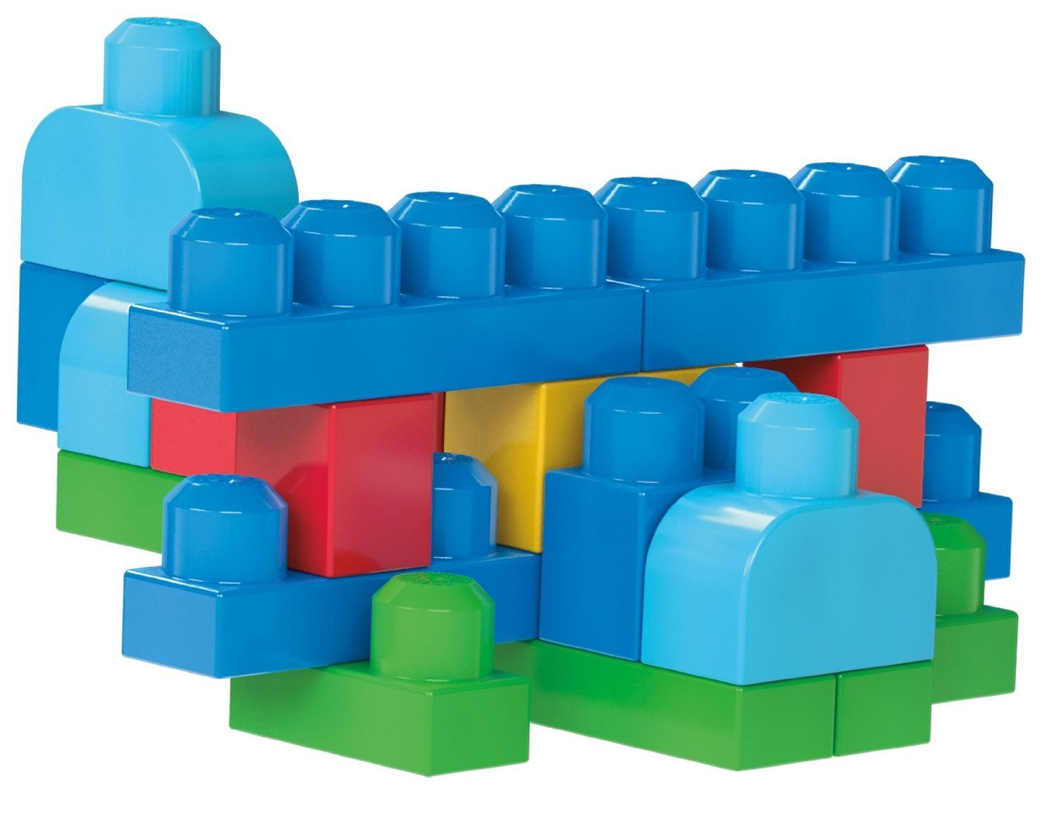 Mega Bloks 80-Piece Big Building Bag, Classic