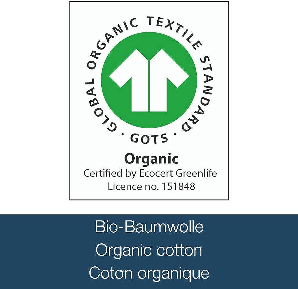 Morgenstern Waffle Pique Mens Bathrobe Organic Cotton White