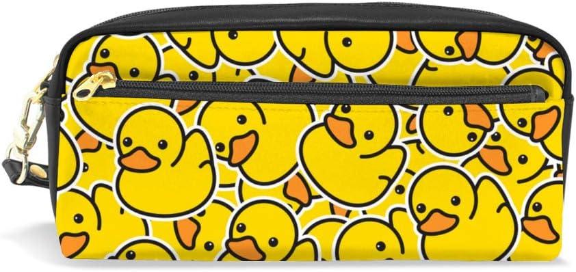 Duck Ducky handmade zipper fabric coin change purse card holder