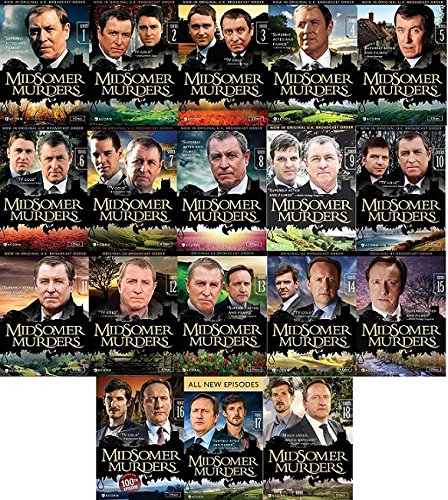 Midsomer Murders Ultimate Collection Series 1-18