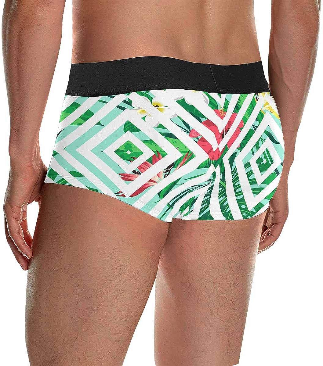 XS-4XL INTERESTPRINT Mens Boxer Briefs Underwear Pants