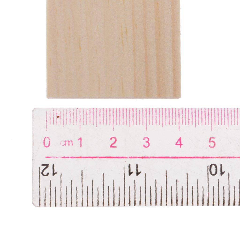 MagiDeal 5pcs 25cm B/âtons En Bois Abaisse-langue B/âtonnets Bois Art Artisanat Bricolage Artisanal Scrapbook R/éveils /éducatifs
