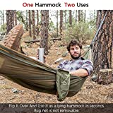 Sunyear Hammock Camping with Bug Net/Netting & 2