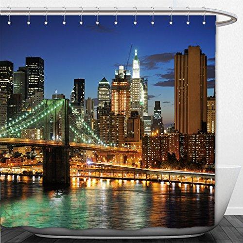 interestlee-shower-curtain-new-york-manhattan-bridge-after-sunset-19608224