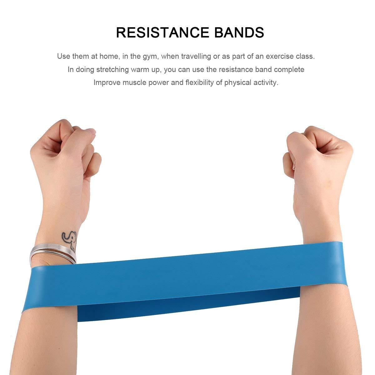 Nihlsen Conjunto de Bandas de Resistencia elástica 4 Niveles ...