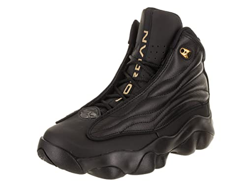 115988440c47 Image Unavailable. Image not available for. Color  Nike Boys  Jordan Pro  Strong Basketball Shoes Black Metallic Gold 5.5Y