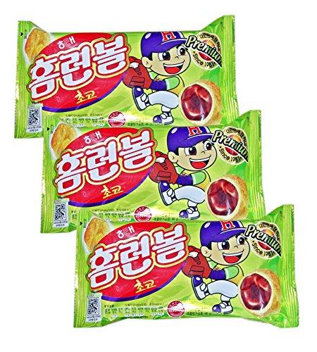 (Choco Home Run Ball Classic Korean Snack × 3)