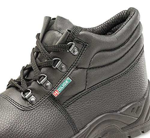 Click Dual Density Chukka M-Sole Safety Boots Black - Size 41/7