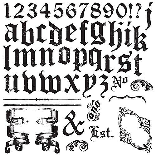 (Prima Marketing IOD Decor Stamps -Alpha Ii)