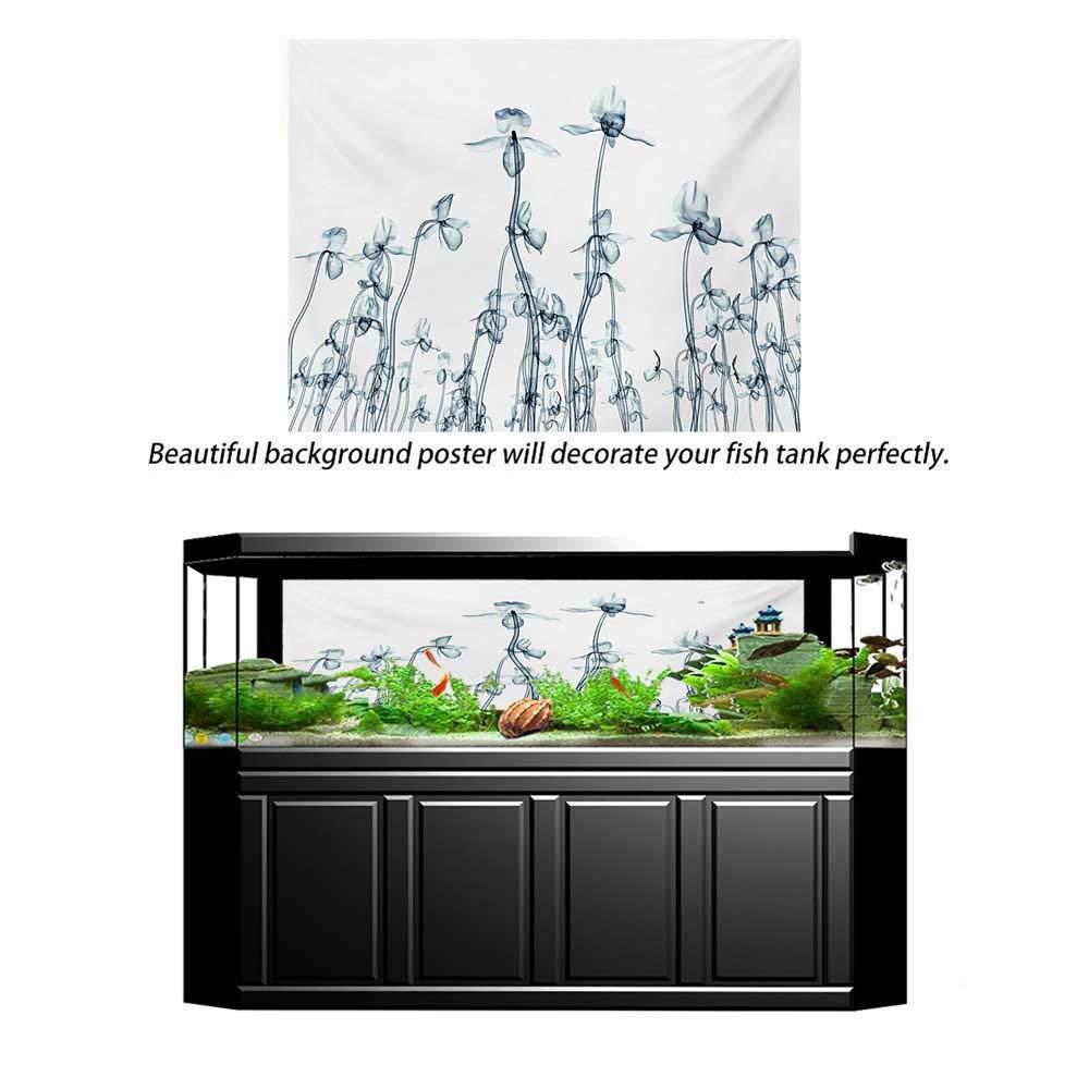 Amazon.com: wwwhsl - Fondo para acuario, flor, vogue ...