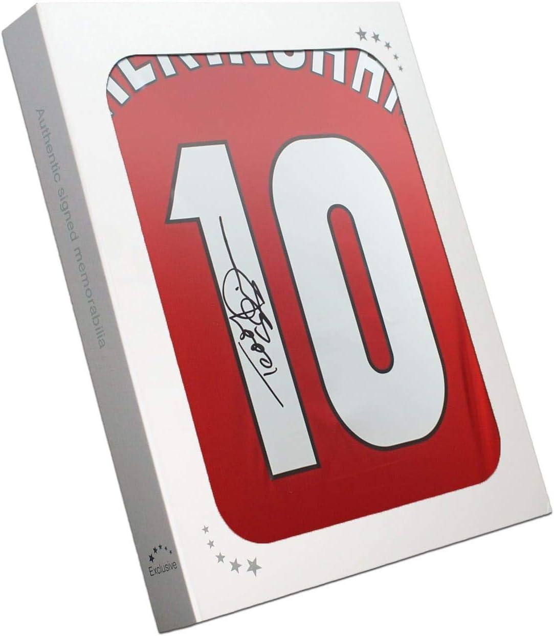 Exclusive Memorabilia Maillot Manchester United sign/é par Teddy Sheringham et Ole Gunnar Solskjaer