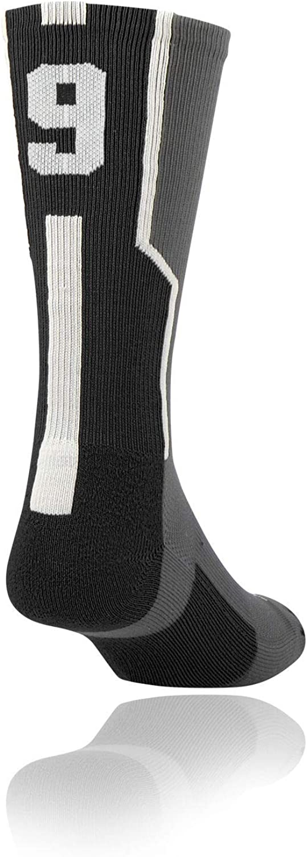 Single Sock Graphite//Black//White Small Twin City Player ID Sock