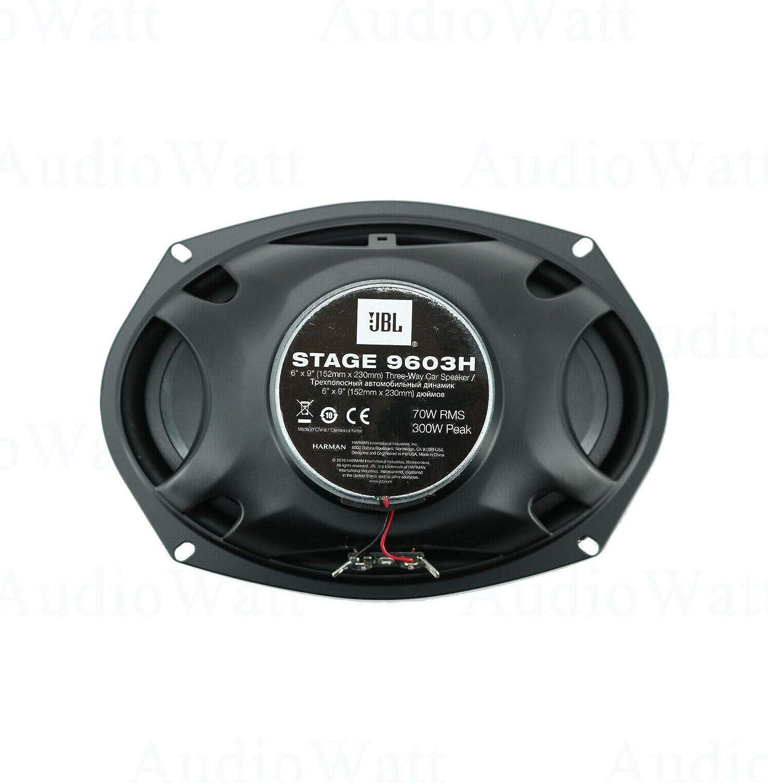 JBL Stage 9603H 6x9 300W 3-Way Stage Series Coaxial Car Audio Loudspeaker