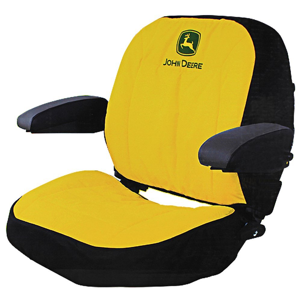John Deere 445 Tractor Seats Replacement : John deere mower seat cover velcromag