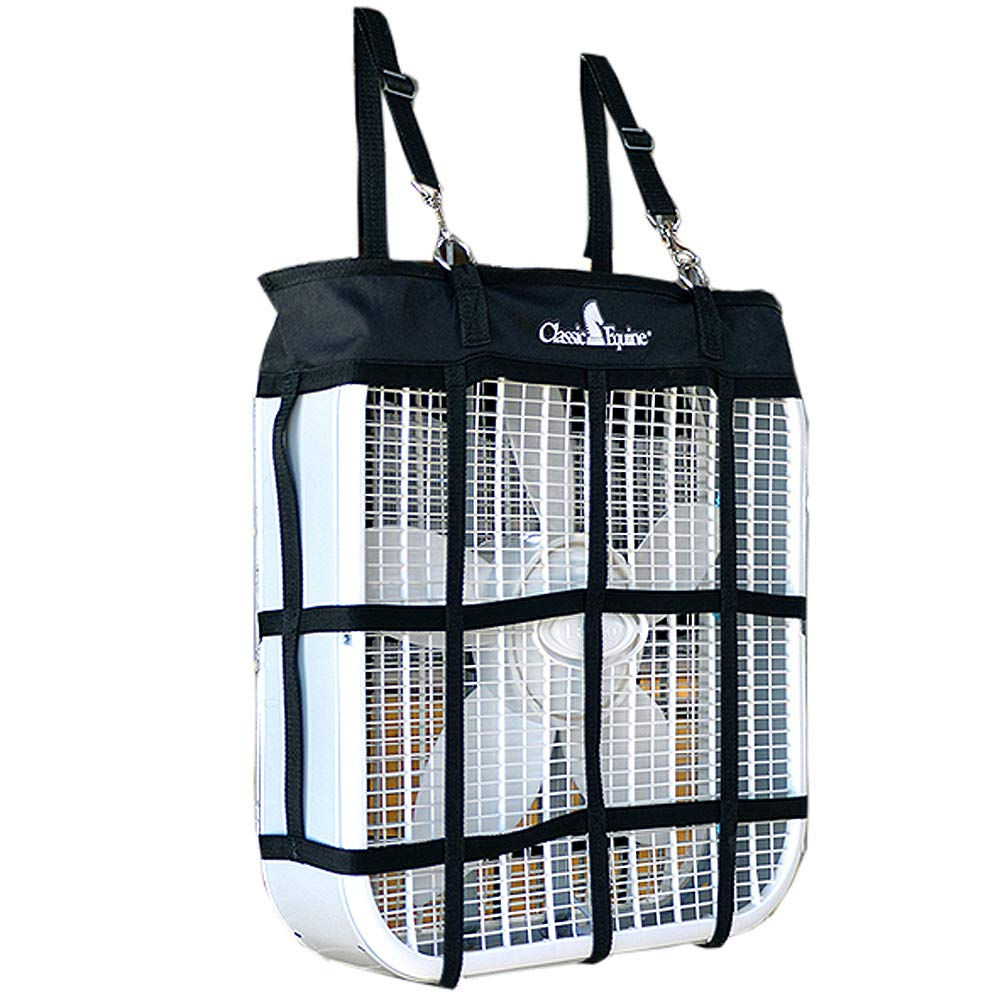 20 X 20 Classic Equine Set of 4 Horse Tack Lightweight Portable Nylon Fan Bag by Equibrand