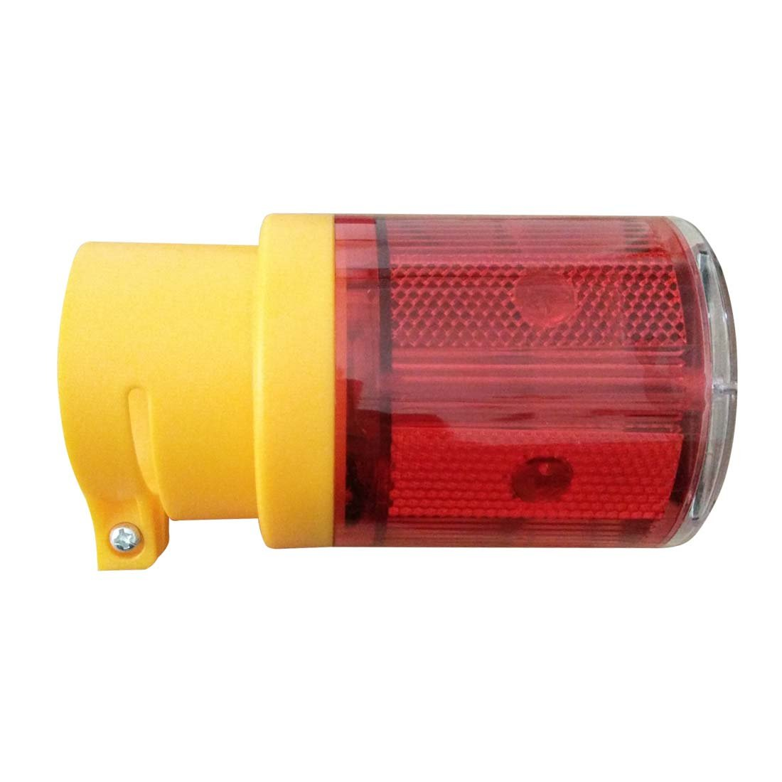 Penfly 0.6w LED Wireless Solar Power Warning Strobe Light Signal Caution Emergency Security Night Lamp for Car Projector Truck Boat Hazard Parking Maintenance Red Color