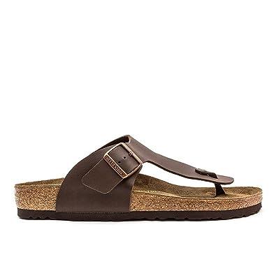 d1b5d6ba664 Birkenstock Ramses Thong Sandals Dark Brown - 7 UK  Amazon.co.uk ...