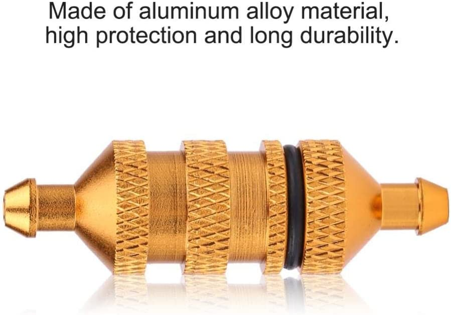 Alloy Aluminum Oil Nitro Fuel Filter Fit for 1//8 1//10 Scale RC Crawler Buggy Car Upgrade Parts V GEBY RC Oil Fuel Filter
