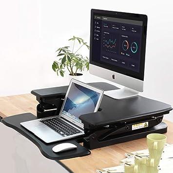 Nclon Mesa Ordenador Portatil,Atril Elevador - Plegable, Regulable, portátil y ergonómico - para Cuadernos y Ordenadores portátiles: Amazon.es: Hogar