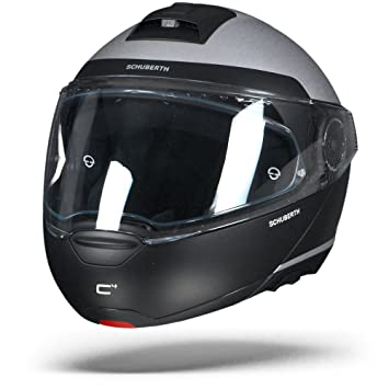SCHUBERTH C4 Resonance - Casco modular de moto, color gris
