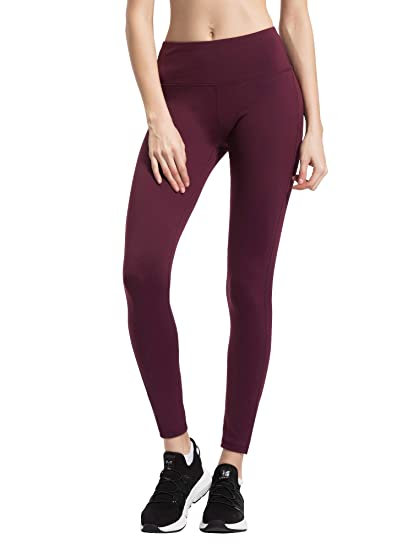 b6c2b95b121807 Queenie Ke Women Yoga Pants High Waist Power Stretch Running Tights for Gym  Workout: Amazon.co.uk: Clothing