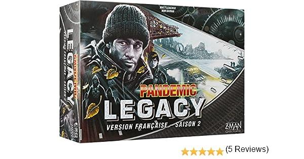 Pandemic – Legacy Negro Temporada 2: Amazon.es: Juguetes y juegos