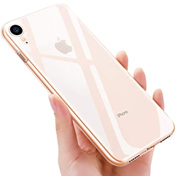 UBEGOOD Funda iPhone XR, Carcasa iPhone XR Slim Soft Silicone TPU Caso iPhone XR Bumper Case Ultra Slim Anti-Rasguño Case Cover para iPhone ...