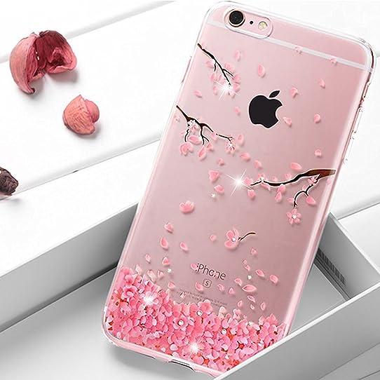 coque iphone 6 silicone rose clair