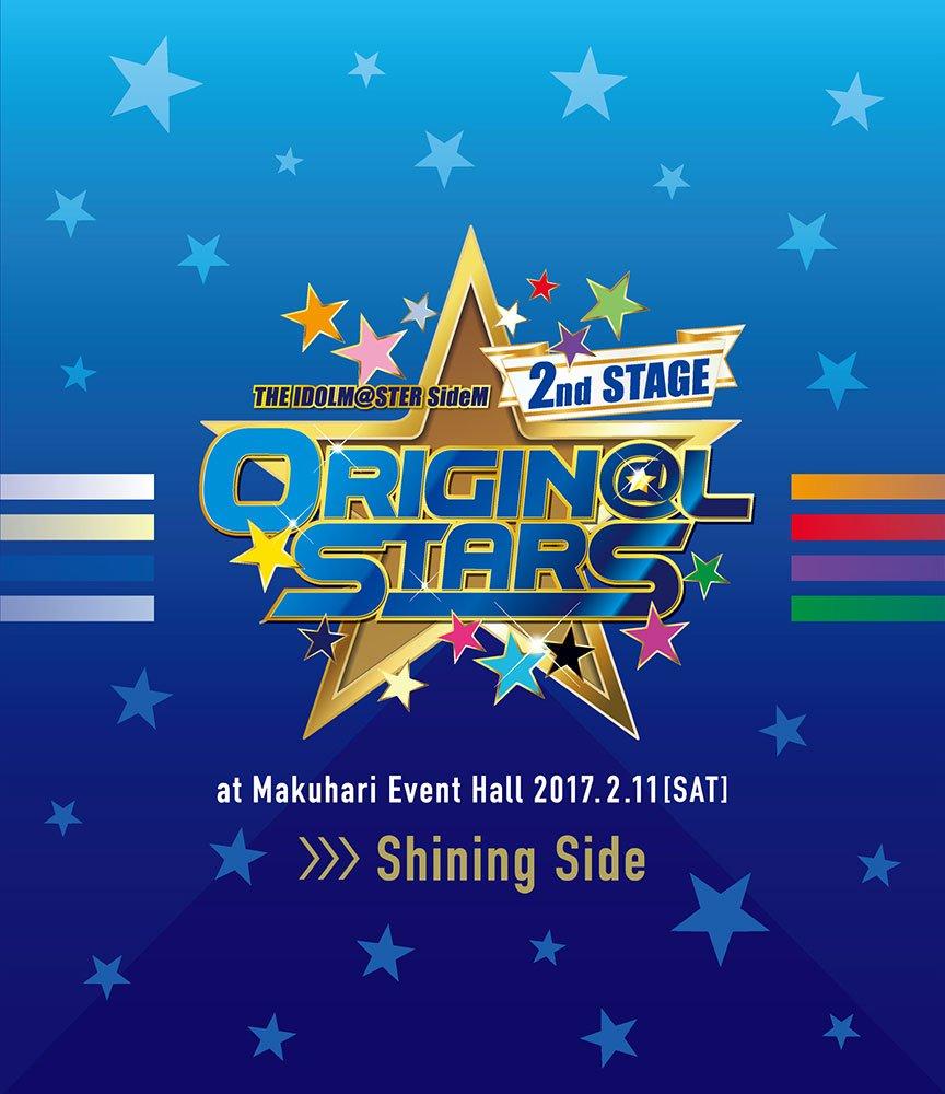 THE IDOLM@STER SideM 2nd STAGE ~ORIGIN@L STARS~ Live Blu-ray (Shining Side) B07144SSG2