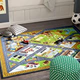 KC CUBS Playtime Collection Country Farm Road Map