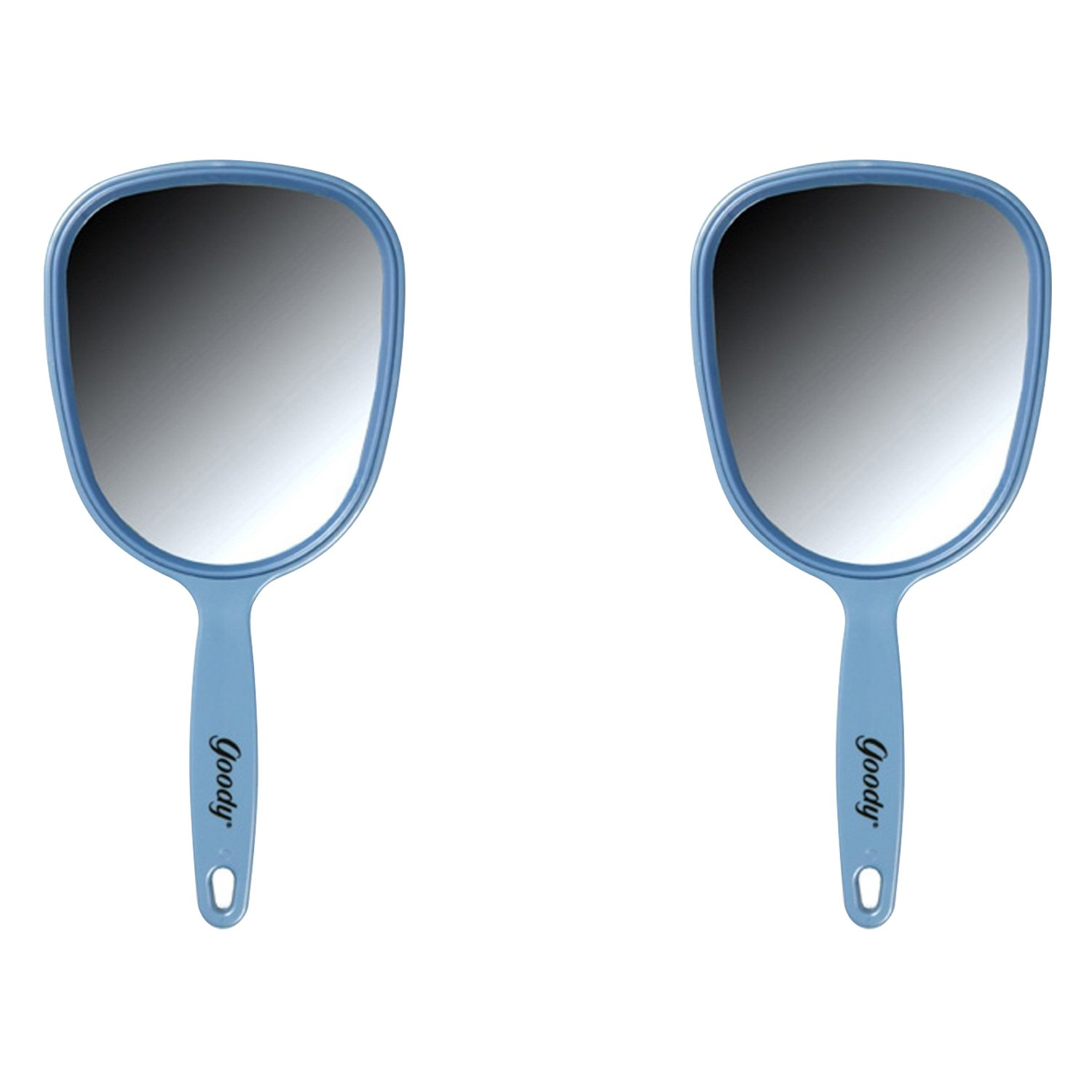 Goody Full Size Hand Mirror (11 1/4 Inches), (Color may vary) ([2-Pack) by Goody