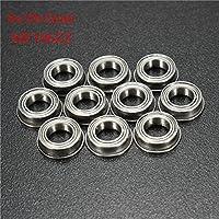 MASUNN 10Pcs Mf106Zz 6X10X3Mm Rodamiento De Bolas De