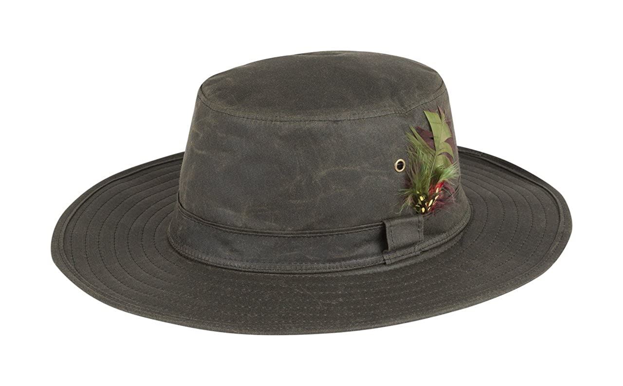 Portmann Aussie Wide Brim Wax Hat Made in The UK