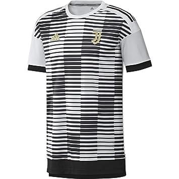 adidas Juve H Preshi Camiseta Calentamiento, Hombre: Amazon.es: Deportes y aire libre