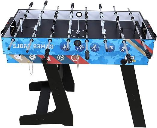 Umi. Essentials Mesa Multijuegos 5 en 1 Mesa de Juego para Fútbol ...