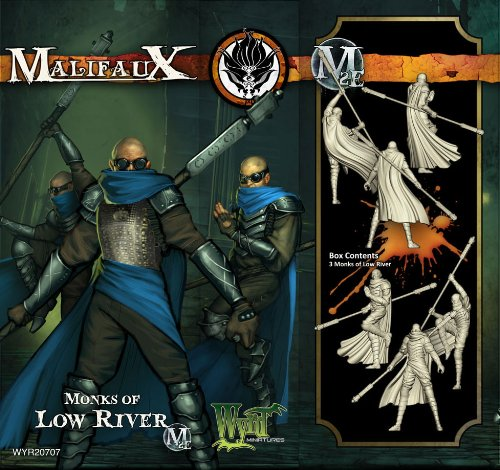 Wyrd Miniatures Malifaux Ten Thunders Monk of Low River Model Kit
