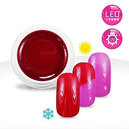 Ocibel – Gel UV/LED color Thermo Frambuesa/Rosa – 5 ml – Manicura
