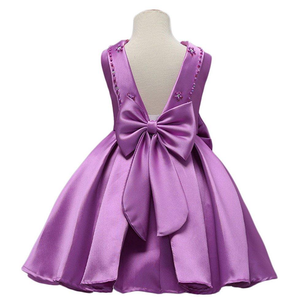 WeeH para - Vestido de fiesta diseño para niña o B07F1M15XH niña ...