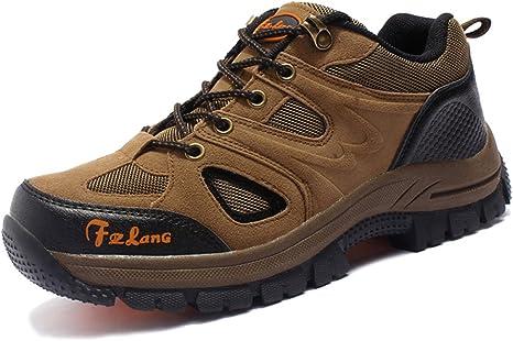 Merryhe Tallas Grandes Zapatos De Montana Al Aire Libre Transpirables Hombres Zapatillas De Deporte Escalada Casual Para Caminar Senderismo Caminar Amazon Es Deportes Y Aire Libre