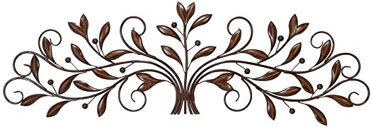 Deco 79 63005 Metal Leaf Wall Decor