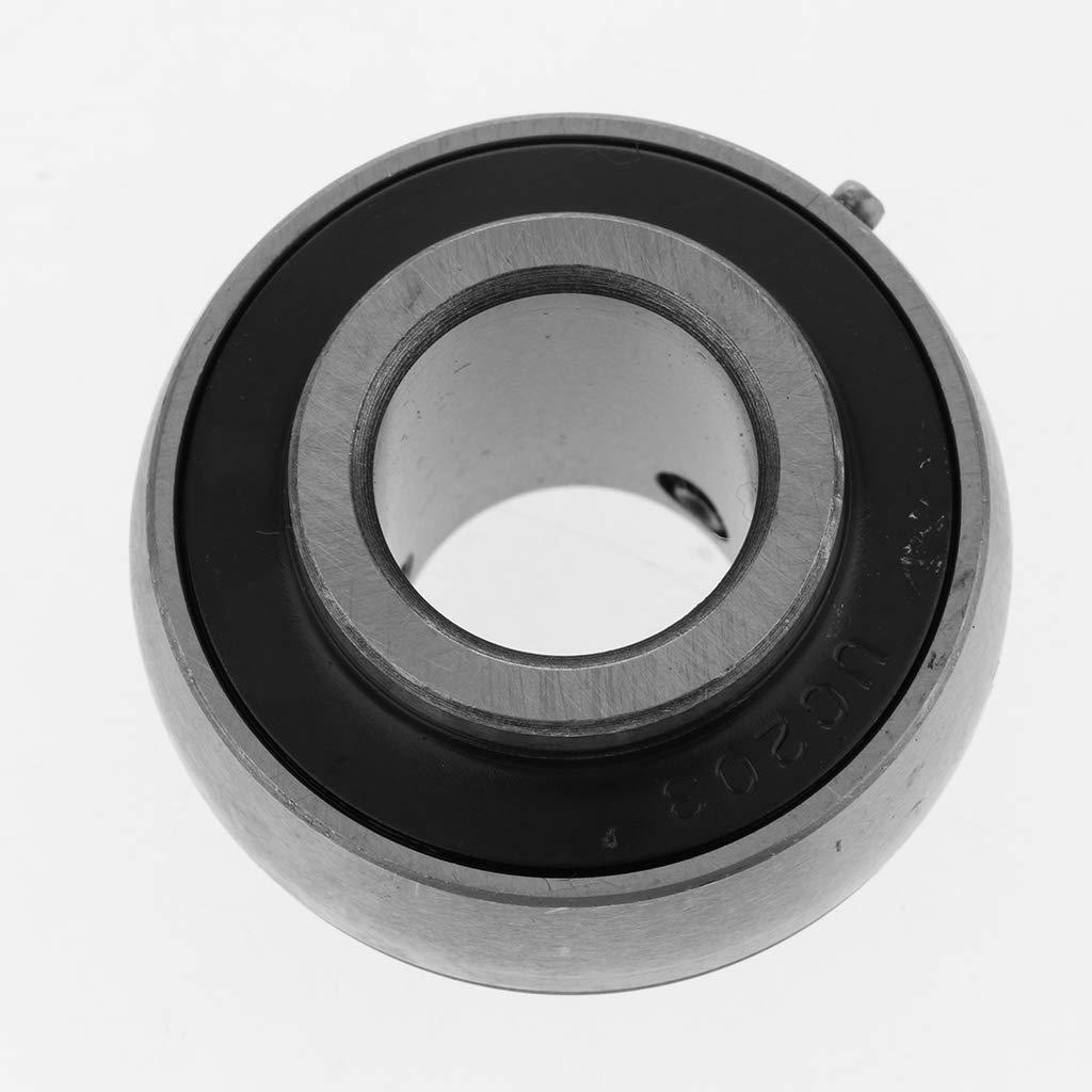 UC205 Alta velocidad Almencla Bloque de Rodamiento Montado Insertos Cubierta Esf/érica Concepto Ergon/ómico Profesional