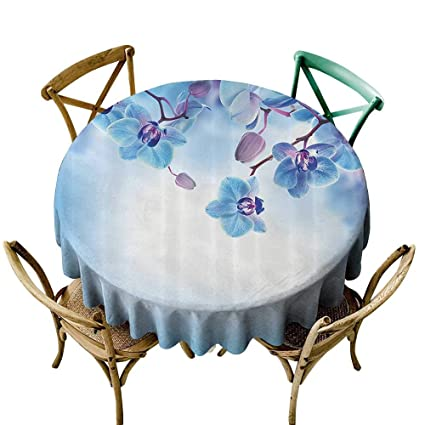 Swell Amazon Com Fashions Table Cloth Flower Decor Orchids Asian Home Remodeling Inspirations Genioncuboardxyz