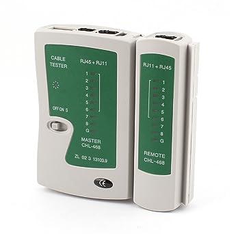 Bestland Netzwerktester Kabeltester Telefon und Netzwerkkabel Patchkabel Tester f/ür RJ11 RJ12 RJ45 CAT5 UTP CAT 6
