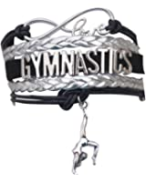 Gymnastics Bracelet- Girls Gymnastics Bracelet- Gymnastics Jewelry - Perfect Gift For Gymnast, Gymnastic Coaches & Teams